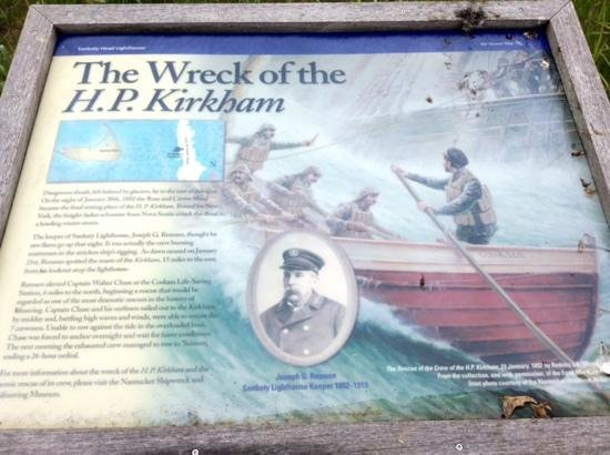 Sankaty Head Lighthouse: The Wreck of the H.P. Kirkham