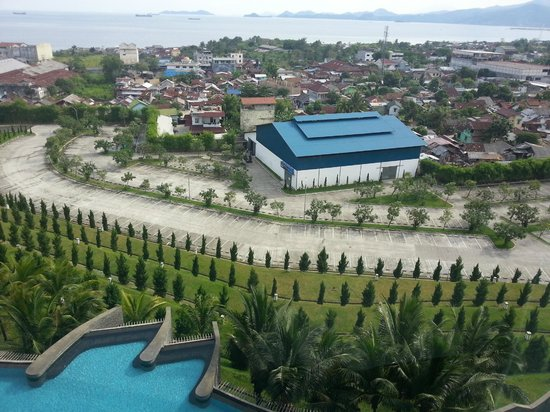 Hotel Novotel Lampung: View from room