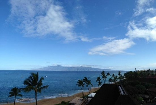 Royal Lahaina Resort : view from deluxe ocean view room