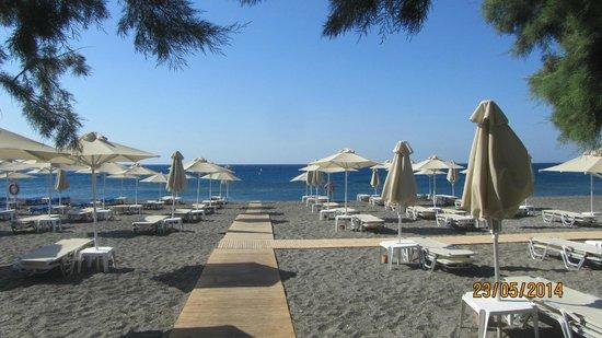 Ostria Resort & Spa : la plage