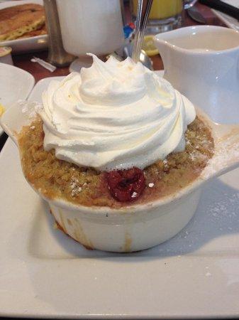 Hershey Pantry: Cherries and cream baked oatmeal!