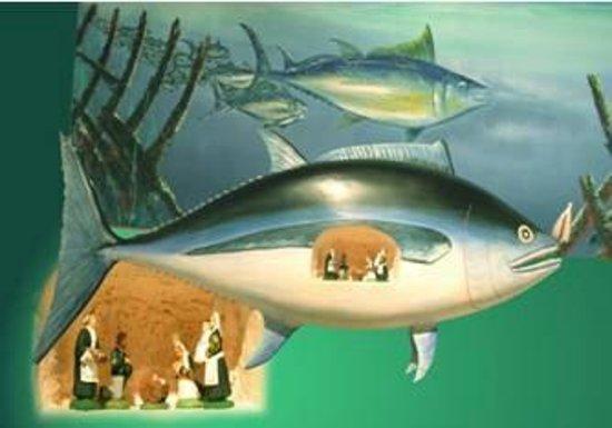 Musée des Thoniers Etel : expo crèches maritimes