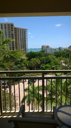 The Ritz-Carlton, Sarasota: View from my room