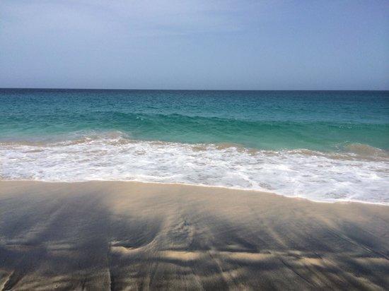 ClubHotel Riu Garopa : La spiaggia dell'hotel.....