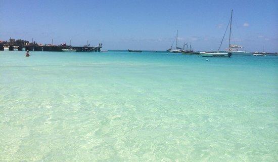 ClubHotel Riu Garopa : La spiaggia di santa maria!! Splendida