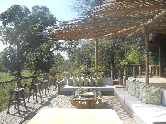 Lion Sands - Tinga Lodge : Deck