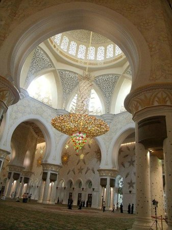 Mosquée Cheikh Zayed : Interior spaces will leave you speechless