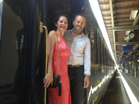 Venice Simplon-Orient-Express: Day Trips: The happy couple
