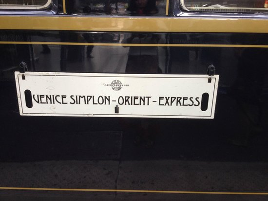 Venice Simplon-Orient-Express: Day Trips: iconic sign,
