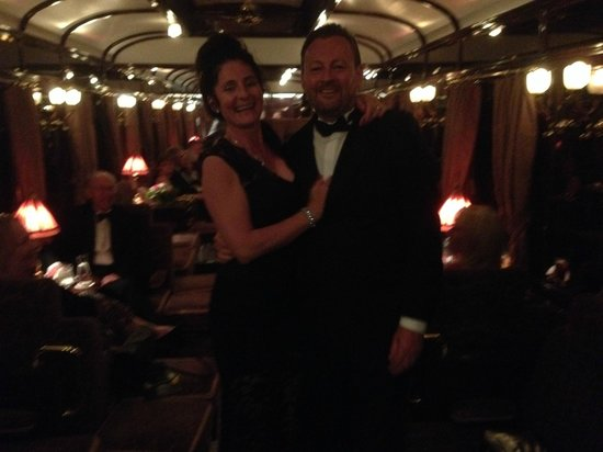 Venice Simplon-Orient-Express: Day Trips: after dinner in the piano Bar, great eve live pianist