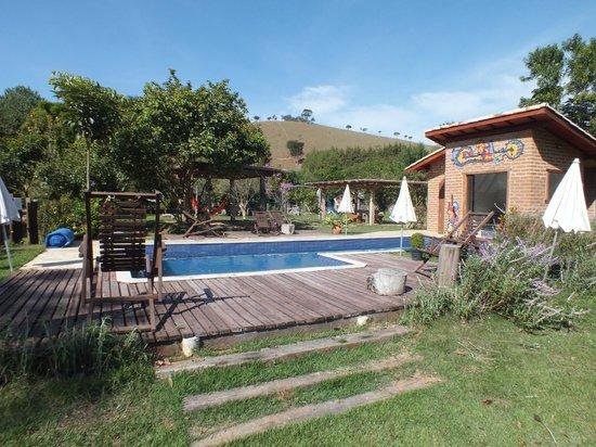 Canto da Lua Chales e Apiario : A piscina (aquecida)