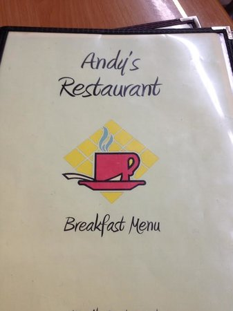Andy's Restaurant: menu