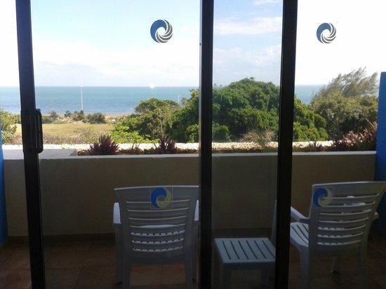 Hotel Tuxpan Varadero: Vista desde el balcón de la habitación