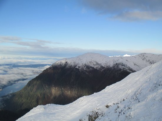 Mount Roberts Trail : View of Mt. Juneau from Mt. Roberts trail