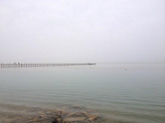 Panorama Bungalows Resort El Gouna: Пирс (вид с пляжа)