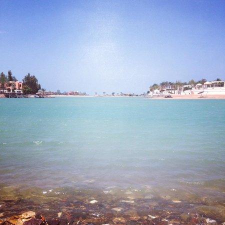 Panorama Bungalows Resort El Gouna: Вид на лагуну.