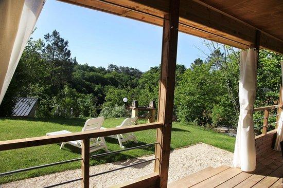 Camping Le Montant : Nouveauté 2014 gîte Sarlat