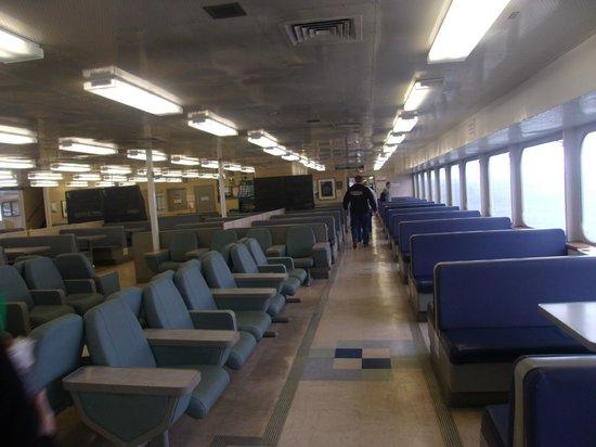 Washington State Ferries : Passenger area