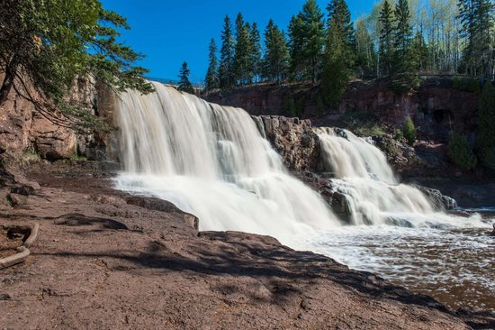 Gooseberry Falls State Park: Love this waterfall