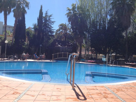 H10 Delfin: Pool area