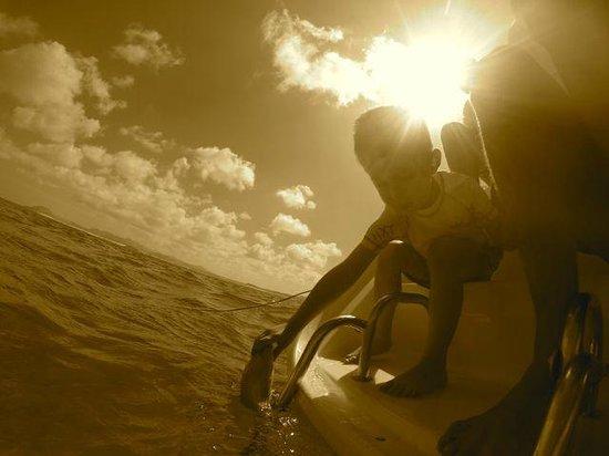 FuerteCharter: Feeding the fish
