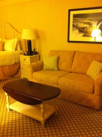 Abbey Resort & Spa: Room with pull out sofa bed