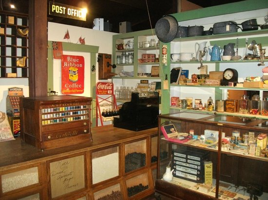 Langley Centennial Museum: General store