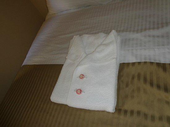 Baldwin Hotel: Capricho na arrumação das toalhas de banho