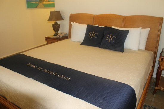 St. James's Club : Bed