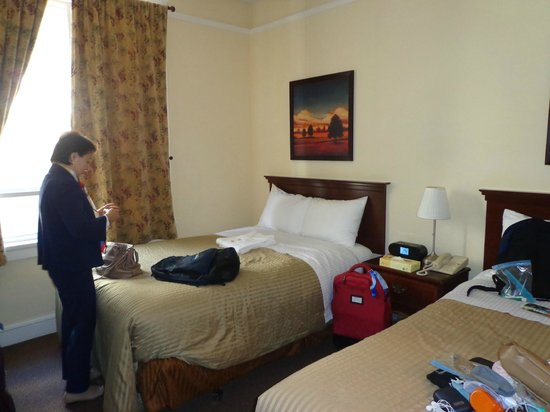 Baldwin Hotel: Vista do quarto