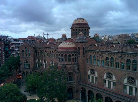 Amrey Sant Pau : vue de la chambre