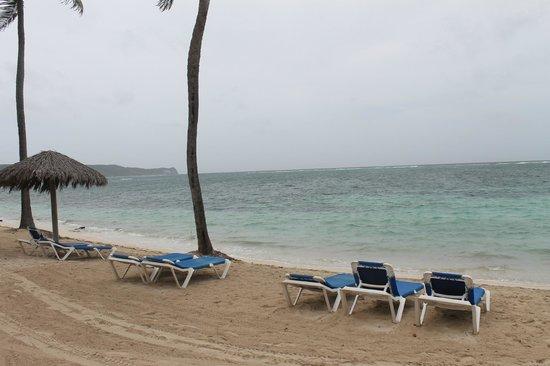 St. James's Club & Villas : Windy beach