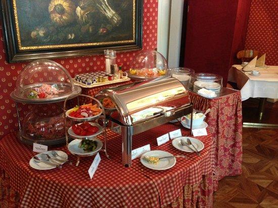 Hotel Sacher Salzburg: Frühstücksbuffet
