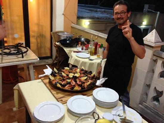 Hotel Miranda: Pepe, our chef !