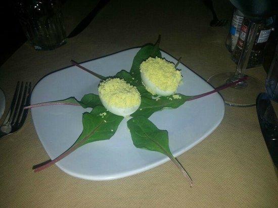 Gianni's: Eggs antipasto