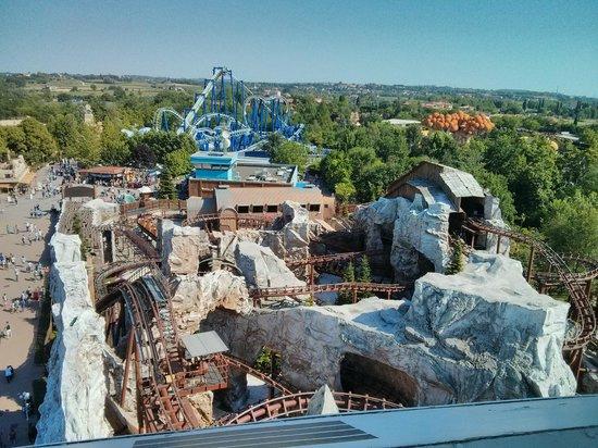 Gardaland Resort: Panoramic view