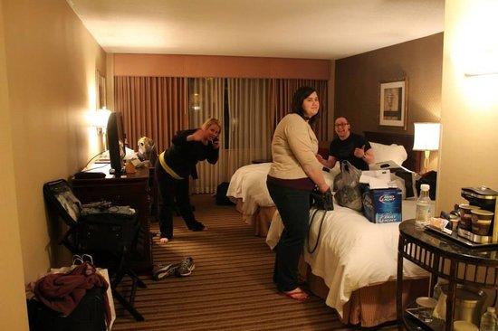 Hilton Parsippany: Room