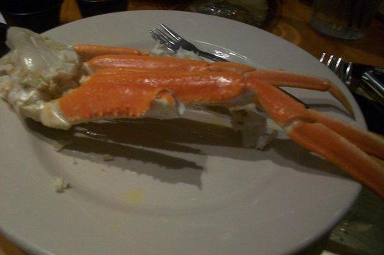 Atrium Resort: Crab Legs from Captain George's