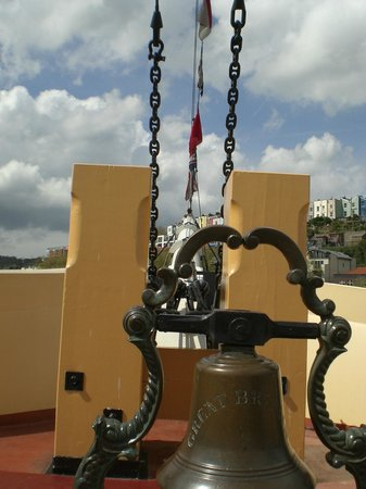 Brunel's SS Great Britain : Bell Exbibit