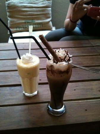 Himalayan Java Coffee: Koffie Mocca-ice