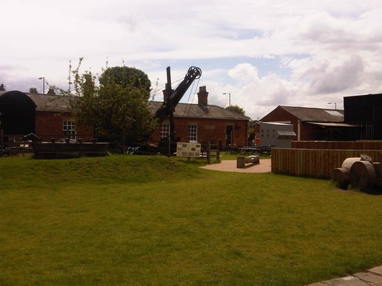 Museum of Lincolnshire Life: outdoor area