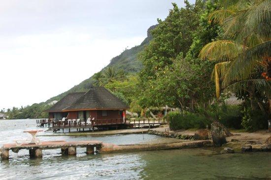 Club Bali Hai Moorea Hotel: panton de l hotel