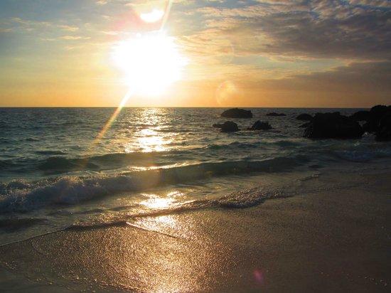 Kailua-Kona, Hawái: Kua Beach Sunset