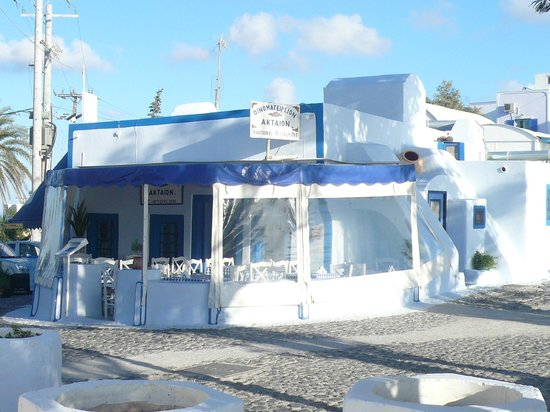 Aktaion: Vue générale du restaurant