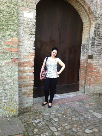 Castello delle quattro torra : front entrance