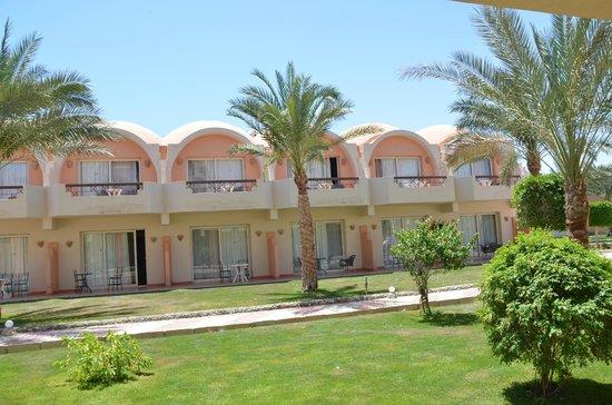 The Three Corners Sea Beach Resort : nice rooms