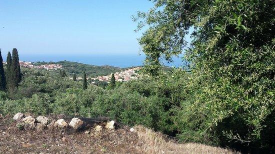Corfu Taxi Private Tours : Makrades village