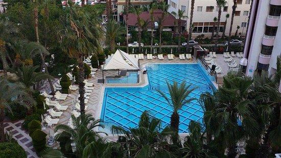 Hotel Aqua: pool area