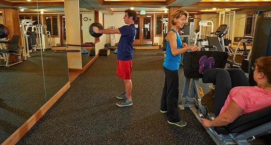 Aspen Alps Condominium Resort: Our updated Fitness Center
