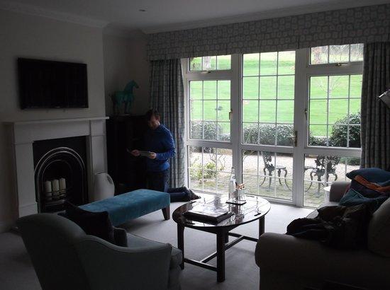 Longueville Manor : Sitting Room